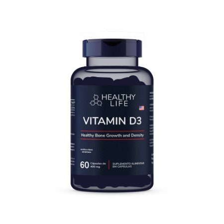 Healthy Life - Vitamin D3 2.000IU (60 comprimidos)