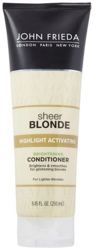 Condicionador John Frieda Sheer Blonde Highlight Activating Brightening 250ml