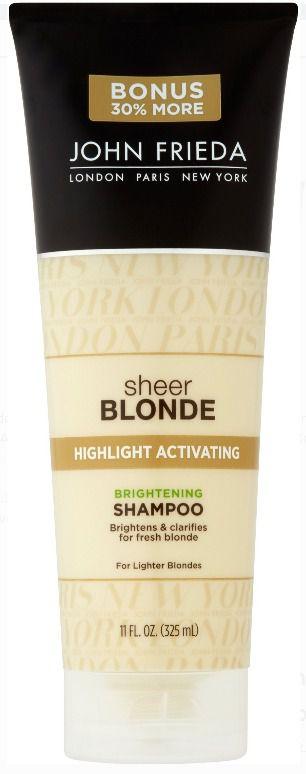 Shampoo John Frieda Sheer Blonde Highlight Activating Brightening 325ml