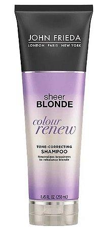 Shampoo John Frieda Sheer Blonde Color Renew Tone Correcting - 250ml