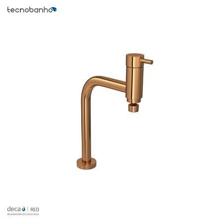 Misturador Monocomando de Mesa para Cozinha Link Red Gold 2256.GL.LNK.RD Deca