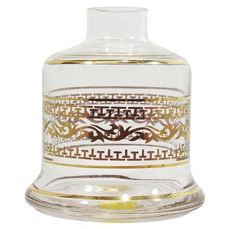 Vaso Shisha Glass Evolution - Transparente