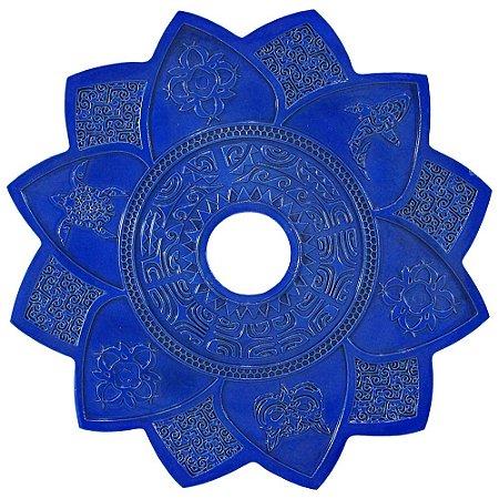 Prato Amazon Hookah New Maori  - Azul