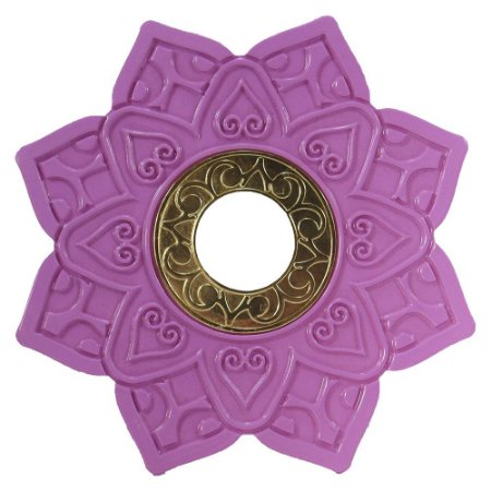 Prato Invictus New Love - Dourado Com Rosa