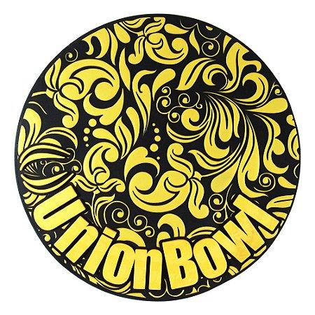 Tapete Unionbowl - Preto Com Dourado