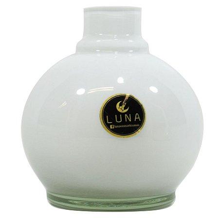 Vaso Luna Ball - Branco