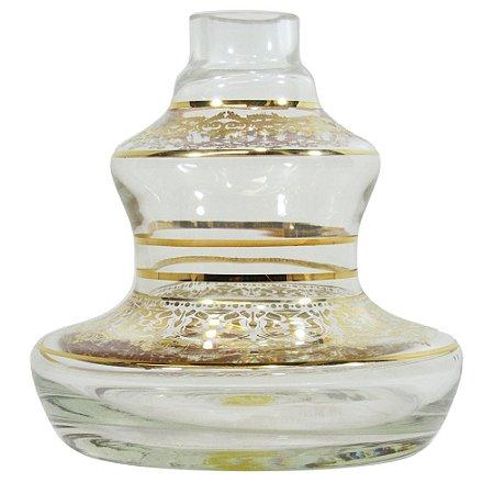 Vaso Shisha Glass Style - Transparente