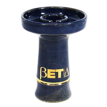 Rosh Beta Bowl Grande- Azul Marinho Filete Dourado