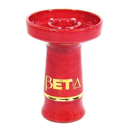 Rosh Beta Bowl Grande- Vermelho Filete Dourado