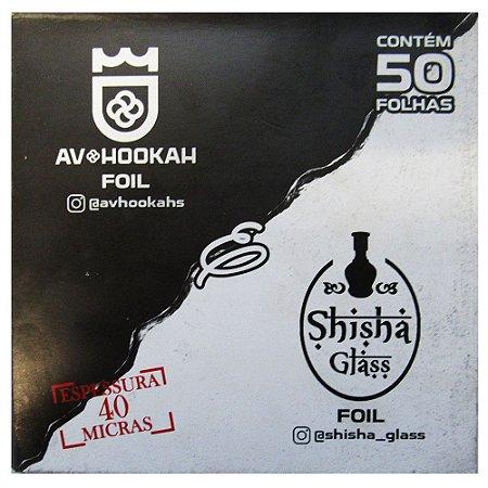 Papel Alumínio AV Hookah - 50 Folhas