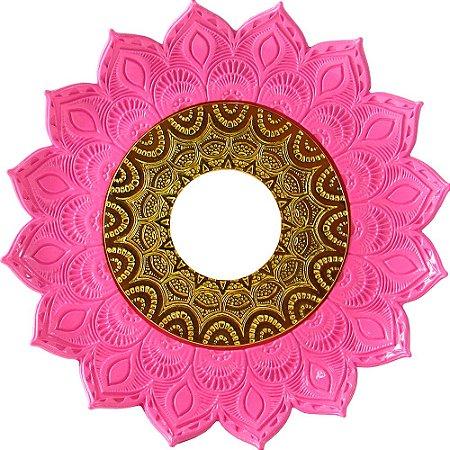 Prato JN Hookah Artemis - Rosa / Dourado