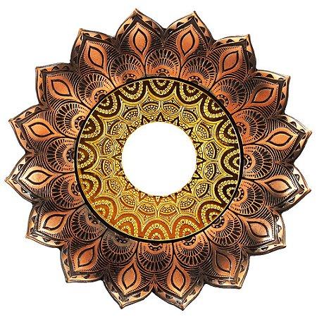 Prato JN Hookah Artemis - Bronze / Dourado