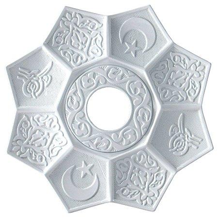Prato EBS Lotus - Branco