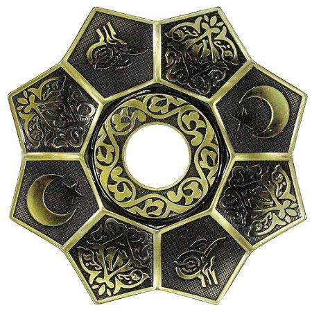 Prato EBS Lotus - Dourado Envelhecido