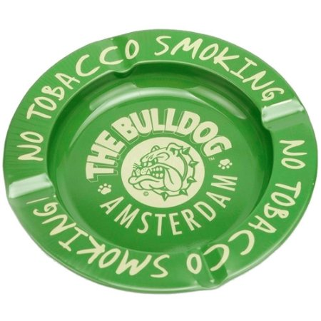 Cinzeiro de Metal The Bulldog - Verde