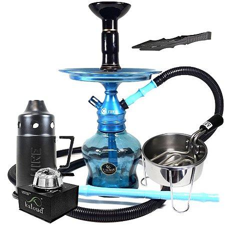 Narguile Al Farid Completo Azul