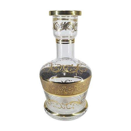 Vaso BJ Bohemiam  Zaman - Cristal Transparente