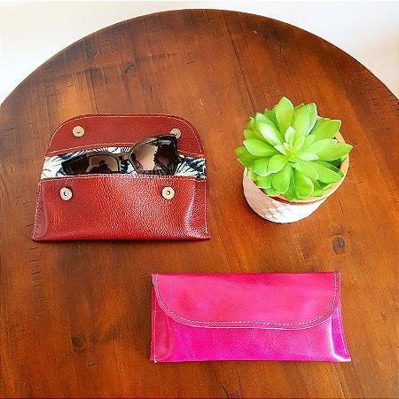 Porta Óculos Tipo Caixa - Pink