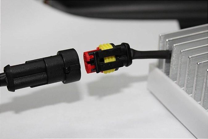 Conector de energia DC Luminária Doled