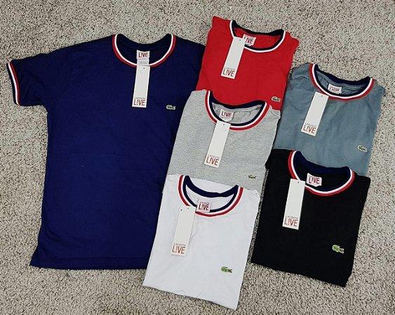 Camisetas Lacoste Bordadas - BP Store - As melhores marcas! 7f3d681f51