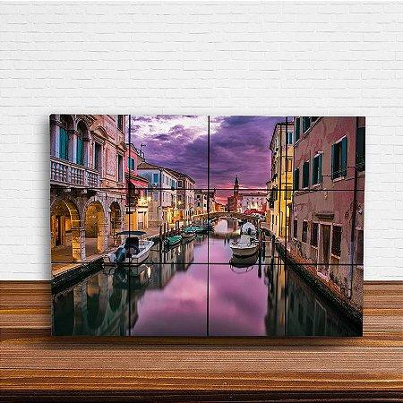 Painel Decorativo Canal Veneza