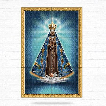 Painel Decorativo de Azulejo Nossa Senhora Aparecida #3