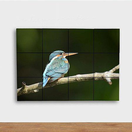 Painel Decorativo Pássaro Azul