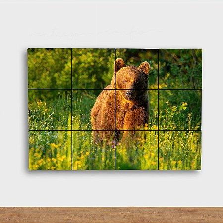 Painel Decorativo Urso no Sol
