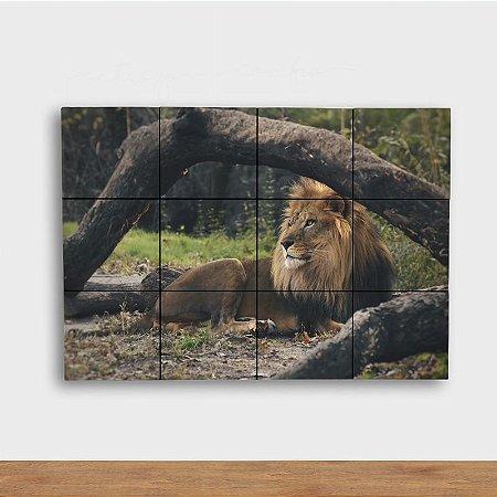 Painel Decorativo Leão