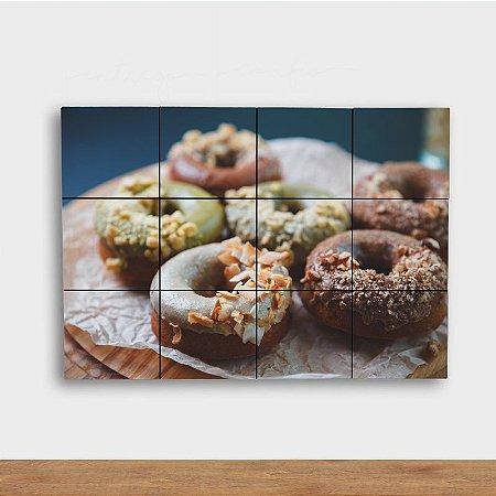 Painel Decorativo Donuts