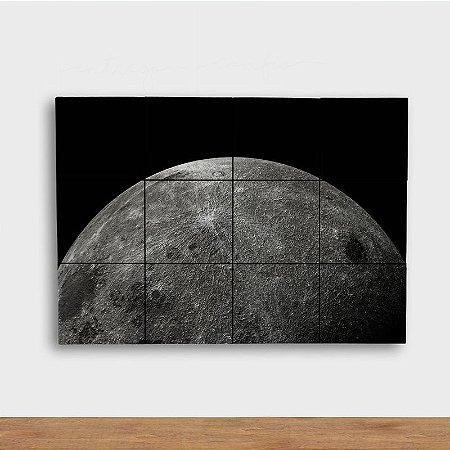 Painel Decorativo Lua Prateada