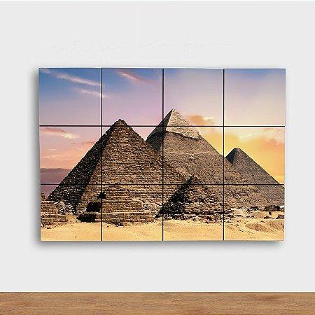 Painel Decorativo Pirâmides
