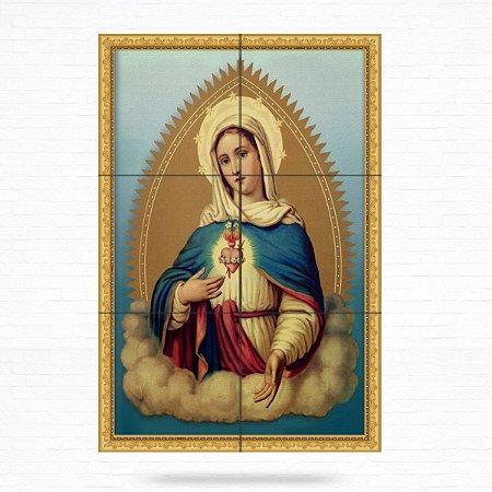 Painel Decorativo de Imaculado Coração de Maria