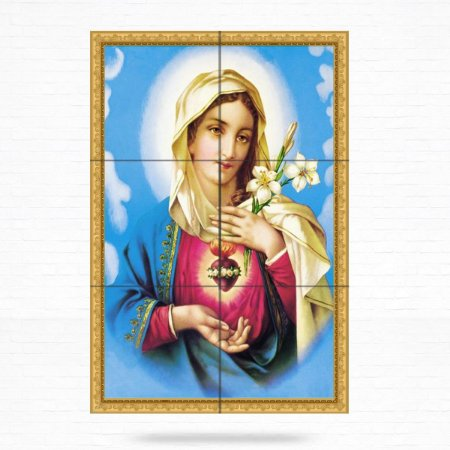 Painel Decorativo de Imaculado Coração de Maria - MOD 06