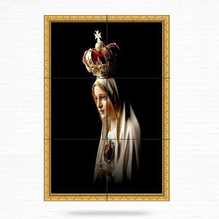 Painel Decorativo de Nossa Senhora de Fátima