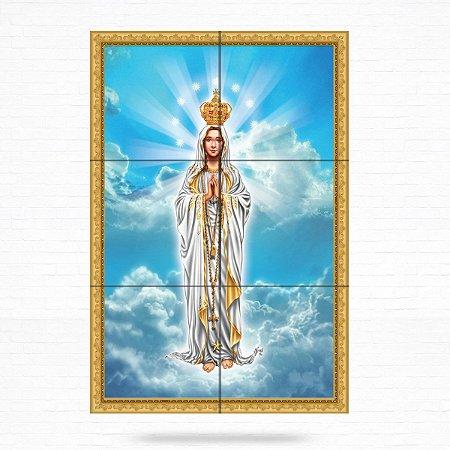Painel Decorativo de Nossa Senhora de Fátima - MOD 03