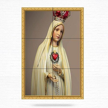 Painel Decorativo de Nossa Senhora de Fátima - MOD 09