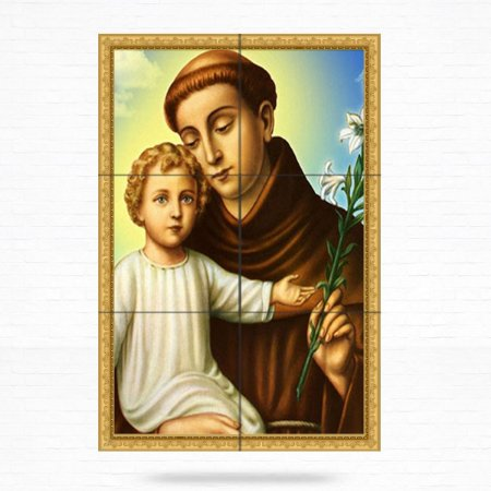 Painel Decorativo de Santo Antonio - MOD 15