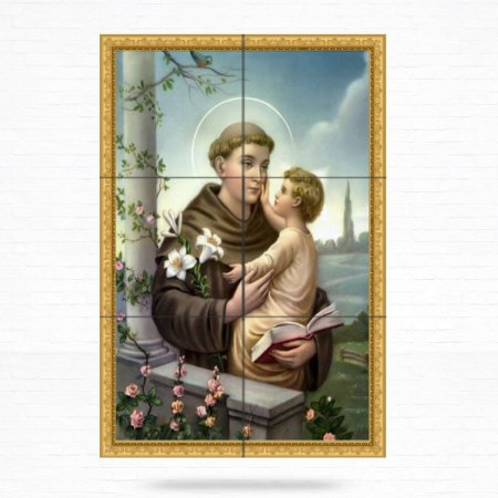 Painel Decorativo de Santo Antonio - MOD 20