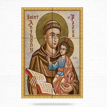 Painel Decorativo de Santo Antonio - MOD 24