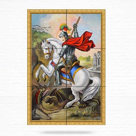 Painel Decorativo de São Jorge - MOD 04