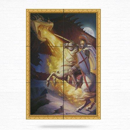 Painel Decorativo de São Jorge - MOD 05