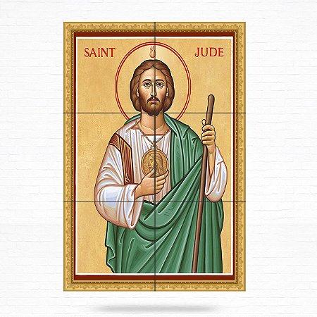Painel Decorativo de São Judas Tadeu - MOD 03