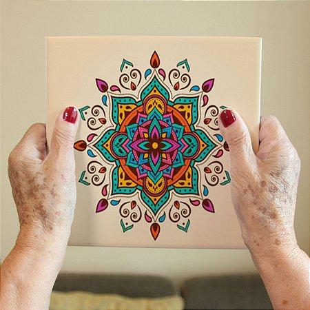 Azulejo Decorativo Mandala #1