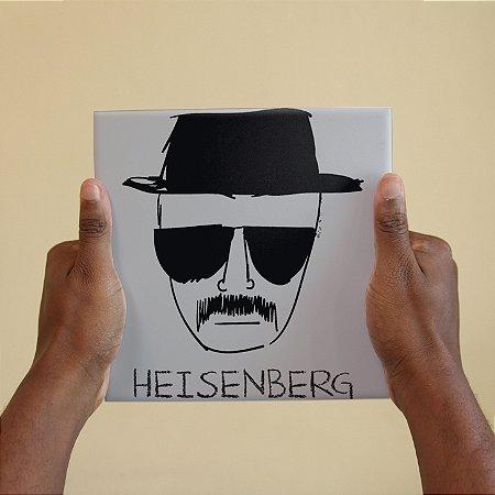 Azulejo Decorativo Heisenberg Breaking Bad