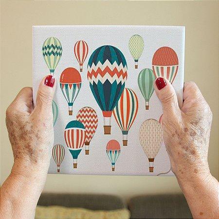 Azulejo Decorativo Balões Coloridos
