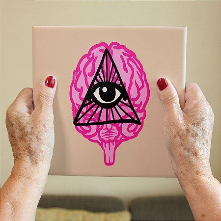 Azulejo Decorativo Olho Rosa