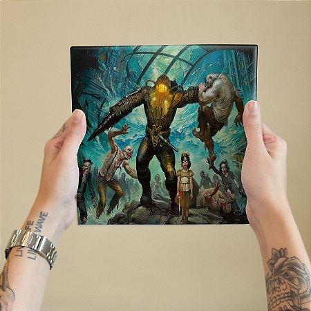 Azulejo Decorativo Bioshock Art
