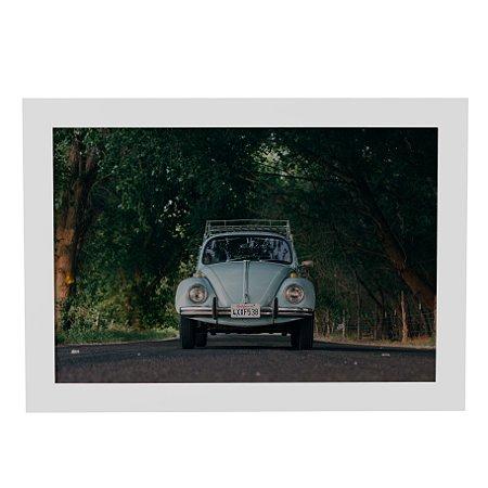 Quadro Decorativo Carro Vintage Fusca