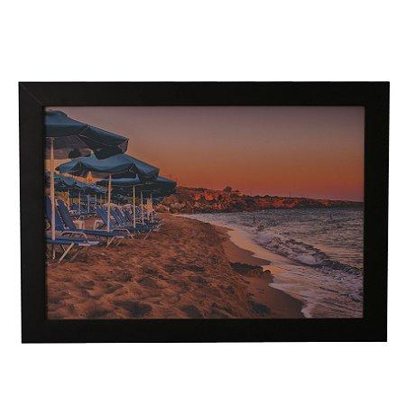 Quadro Decorativo Paisagem Areia e Mar